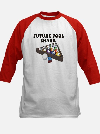 Future Pool Shark I Kids Baseball Jersey
