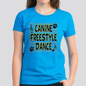 K9 Freestyle Dance Women's Dark T-Shirt