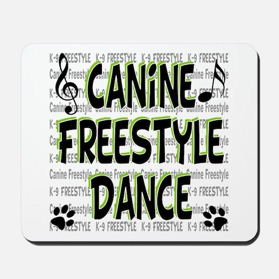 K9 Freestyle Dance Mousepad