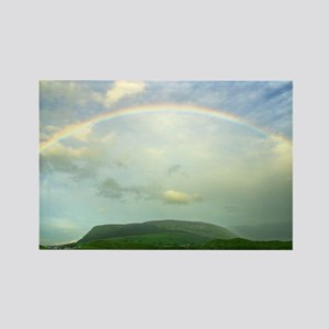 Rainbow over Knocknara, Irela Rectangle Magnet