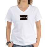 toneamp Women's V-Neck T-Shirt