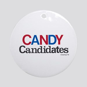 CANDY Candidates Ornament (Round)