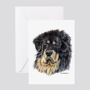 Tibetan Mastiff Greeting Card