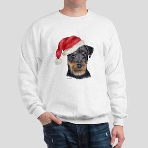 Christmas German Hunt Terrier Sweatshirt