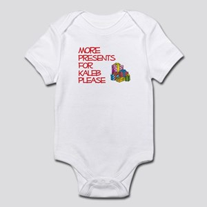 More Presents For Kaleb Infant Bodysuit