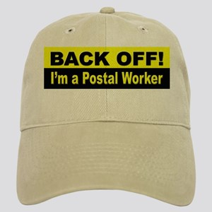Back Off I'm a Postal Worker Cap
