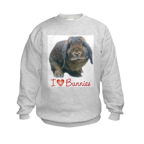 bunny lover Kids Sweatshirt