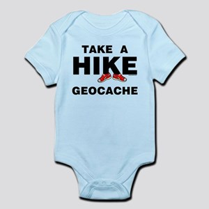 Geocache Hike Infant Bodysuit