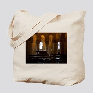 Castle Chapel Tote Bag