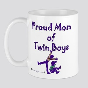 Proud Mom of Twin Boys - GBOX Mug