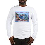 Playful Otters Long Sleeve T-Shirt
