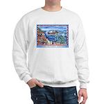 Playful Otters Sweatshirt
