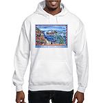 Playful Otters Hooded Sweatshirt