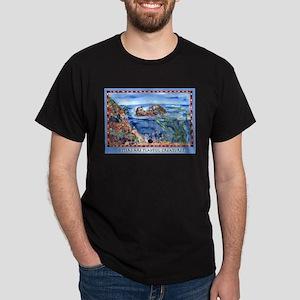 Playful Otters Dark T-Shirt