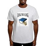 Rock The Block Ash Grey T-Shirt