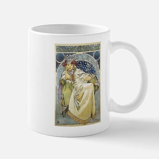 Art Nouveau Mucha - Princess Hyacinthe2 Mugs