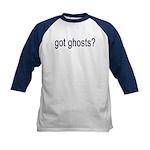 Got Ghosts Kids Baseball Jersey