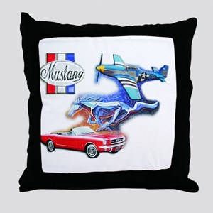 THE STANGS Throw Pillow