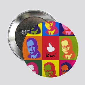 "Warhol Karl Rove 2.25"" Button (10 pack)"