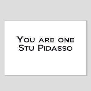 Stu Pidasso 2 Postcards (Package of 8)