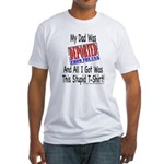 Deported From The USA (Dad) Fitted T-Shirt