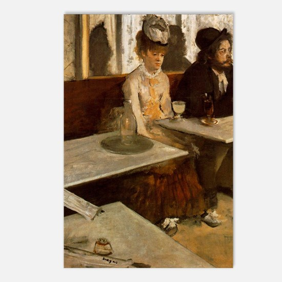 Edgar Degas - LAbsinthe Postcards (Package of 8)
