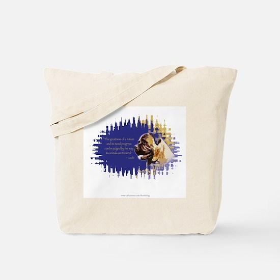 Bullmastiff 2 sided Tote Bag