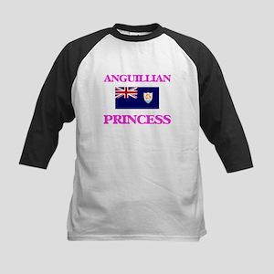 Anguillian Princess Baseball Jersey