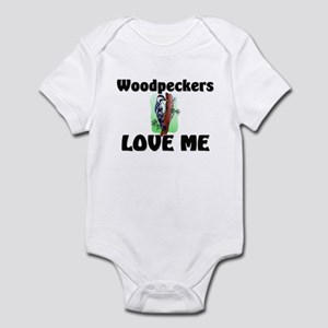 Woodpeckers Loves Me Infant Bodysuit