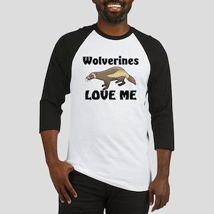 Wolverines Loves Me Baseball Jersey