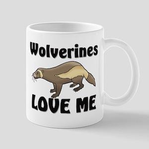 Wolverines Loves Me Mug