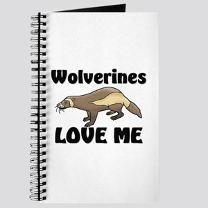 Wolverines Loves Me Journal