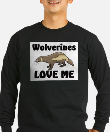 Wolverines Loves Me T