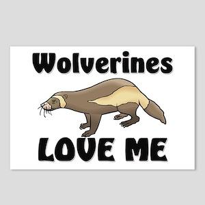 Wolverines Loves Me Postcards (Package of 8)