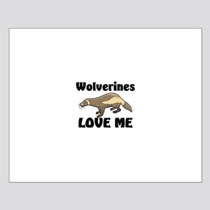 Wolverines Loves Me Small Poster