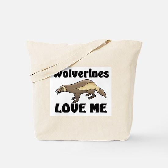Wolverines Loves Me Tote Bag