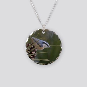 Red Breasted Nuthatch Necklace