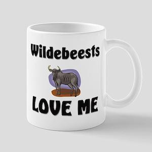 Wildebeests Loves Me Mug