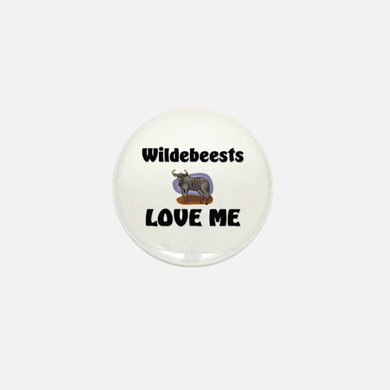 Wildebeests Loves Me Mini Button