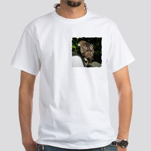 Red-tailed Hawk White T-Shirt