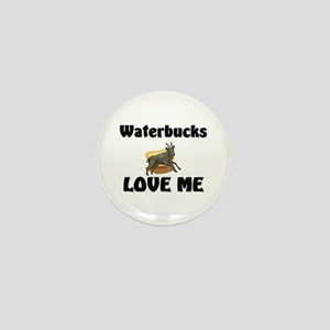 Waterbucks Love Me Mini Button