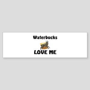Waterbucks Love Me Bumper Sticker