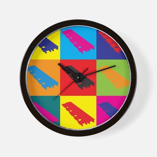 Xylophone Pop Art Wall Clock