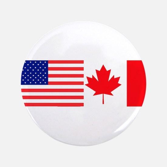 "AmeriCanadian 3.5"" Button"