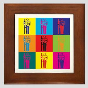 X-Ray Pop Art Framed Tile