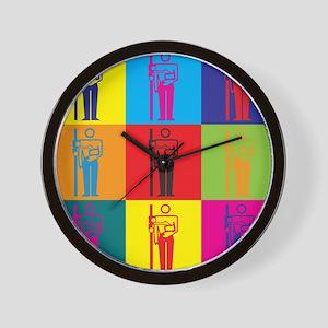 X-Ray Pop Art Wall Clock