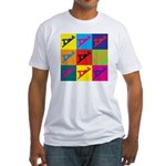 Woodworking Pop Art Fitted T-Shirt