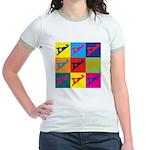 Woodworking Pop Art Jr. Ringer T-Shirt