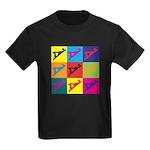 Woodworking Pop Art Kids Dark T-Shirt