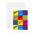 Woodworking Pop Art Greeting Cards (Pk of 10)